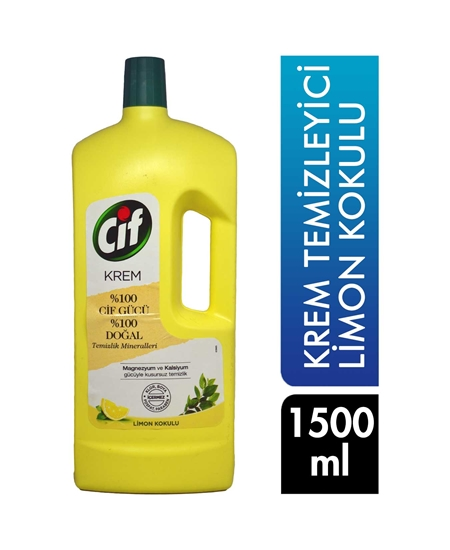 Picture of Cif Cream Cleaner 1500 ml Lemon Scented