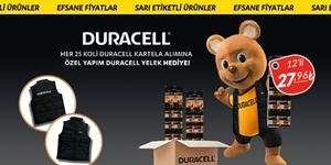 Duracell  Kartela  Piller kampanya resmi