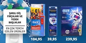 Oral-B Şarjlı Diş Fırçaları kampanya resmi