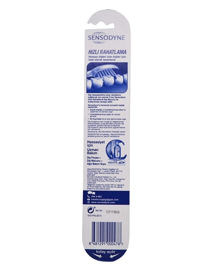 Picture of Sensodyne Toothbrush Quick Relief Soft (Loose)