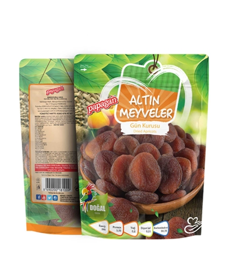 Picture of Papağan Golden Fruits Dried Apricots 140 g