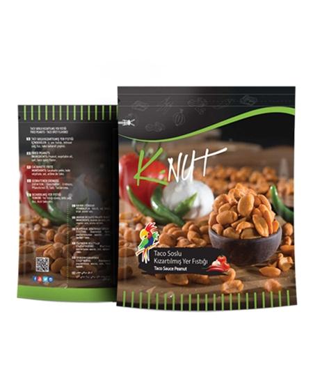 Picture of Papağan K-Nut Kızartılmış Yer Fıstığı 50 g Taco Soslu