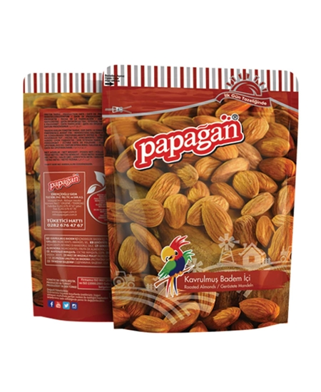 Picture of Papağan Roasted Almonds 160 g