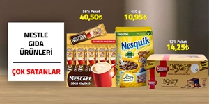 Nestle Gıda Ürünleri kampanya resmi