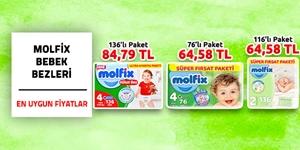 Molfix Bebek Bezleri kampanya resmi