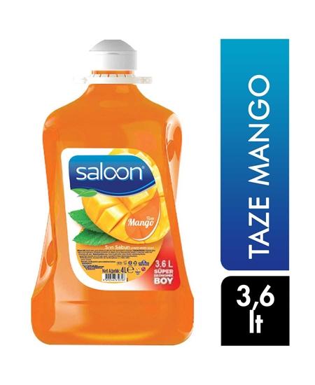 Picture of Saloon Sıvı Sabun 3,6 lt X 4'lü Koli Taze Mango