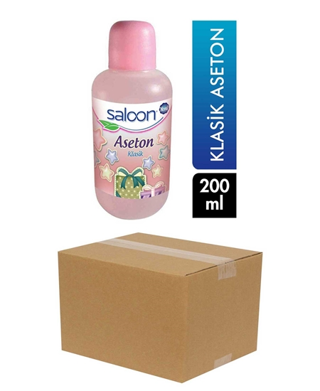 Picture of Saloon Acetone 200 ml X 24 Pieces Box Classic