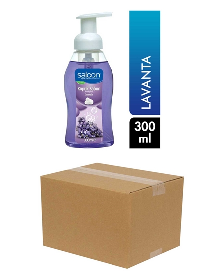 Picture of Saloon Foam Soap 300 ml X 12 Pieces Box Lavender