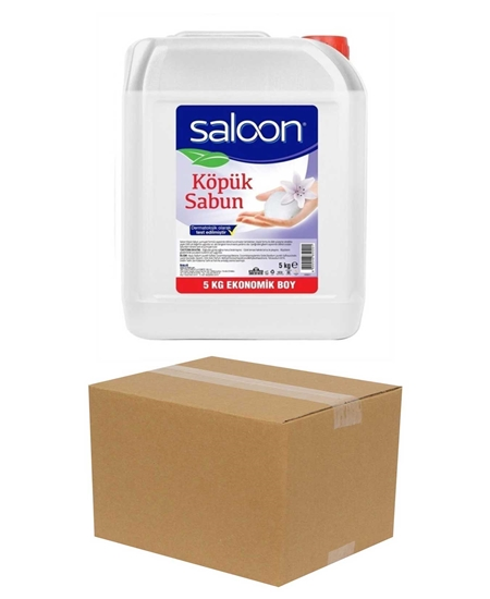 Picture of Saloon Foam Soap 5 kg X 4 Boxes Transparent Floral