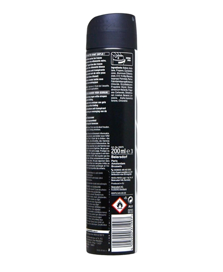 Picture of Nivea Deodorant 200 ml Men Black & White Invisible Fresh