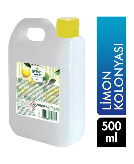 Picture of Green World 80 ° Alcoholic Lemon Cologne 500 ml