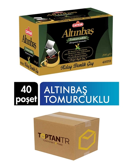 Picture of Çaykur Altınbaş Easy Teapot With Bud 200 gr 40 Bags