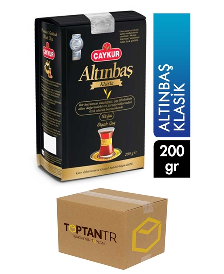 Picture of Çaykur Altınbaş Classic Tea 200 gr X 18 pcs Box