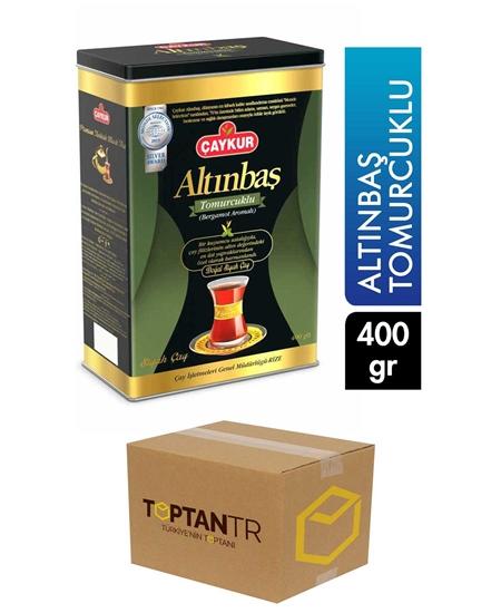 Picture of Çaykur Altınbaş Bud Tea 400 gr Can X 12 Pieces Package