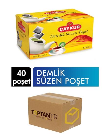 Picture of Çaykur Teapot Bag Tea 200 g 40 Bags X 16 Pieces Box