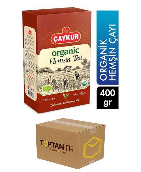 Picture of Çaykur Organic Hemşin Tea 400 gr X 15 Pieces Box