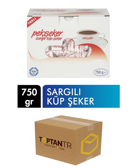 Picture of Pekşeker Wrapped Cube Sugar 750 g X 16 Pieces Box