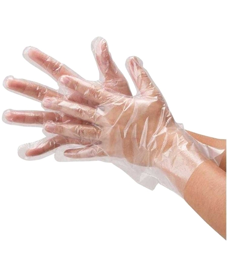 Picture of By Lucky Transparent Pastry Gloves 100 Pieces X 50 Pieces Boxes