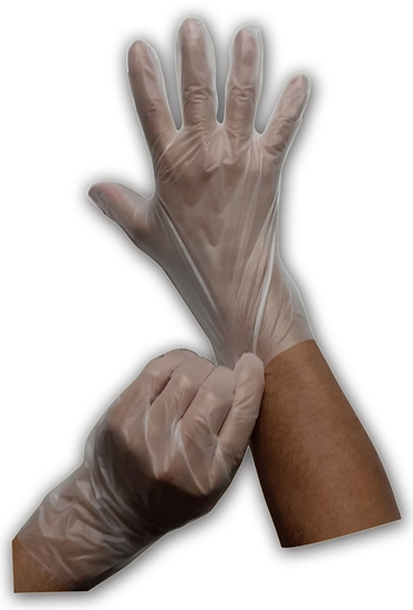 Picture of By Lucky Hybrid Glove White 100 Pack