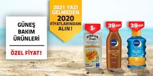 Güneş Bakım Ürünleri kampanya resmi