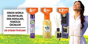 Green World Kolonyalar, Oda Kokuları ve Temizlik Ürünleri kampanya resmi