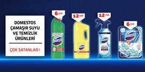 Domestos Çamaşır Suyu ve Temizlik Ürünleri kampanya resmi