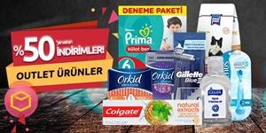 Outlet Ürünler kampanya resmi