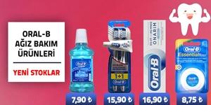 Oral-B Diş Ağız Bakım Ürünleri kampanya resmi