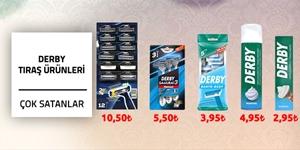 Derby Tıraş Ürünleri kampanya resmi