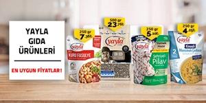 Yayla Bakliyat ve Hazır Yemekler kampanya resmi