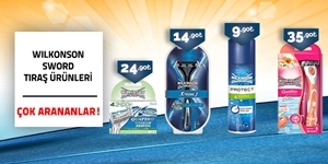 Wilkinson Sword Tıraş Ürünleri kampanya resmi