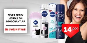 Nivea Deodorant Çeşitleri kampanya resmi