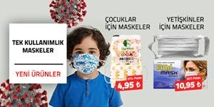 Tek Kullanımlık Maskeler kampanya resmi