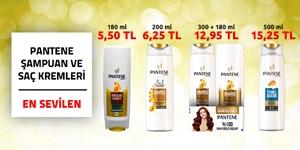 Pantene Şampuan ve Saç Kremleri kampanya resmi