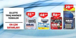 Gillette Tıraş Makinesi Yedekleri kampanya resmi
