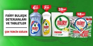 Fairy Bulaşık Deterjanları ve Tabletleri kampanya resmi