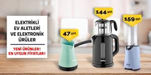 Elektrikli Ev Aletleri ve Elektronik Ürünler kampanya resmi
