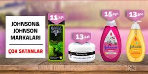 Johnson & Johnson Ürünlerinde En Uygun Fiyatlar kampanya resmi