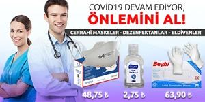 Koronavirüse Karşı Korunma ve Hijyen Ürünleri kampanya resmi