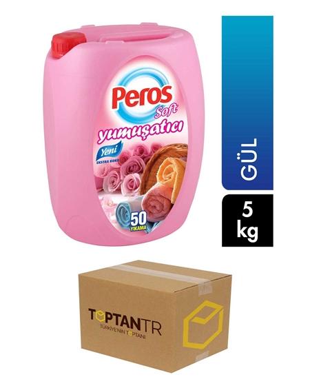 Picture of Peros Soft Yumuşatıcı 5 kg X 4'lü Koli Gül
