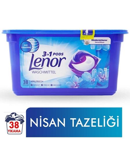 Picture of Lenor  3'ü 1 Arada Kapsül Çamaşır Deterjanı 38 Yıkama Nisan Tazeliği