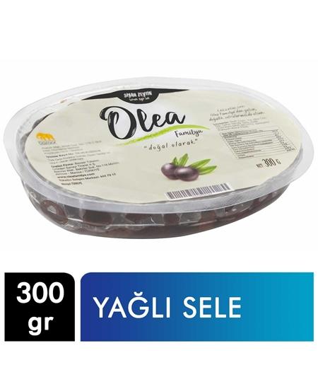 Picture of Olea Familya Siyah Zeytin Vakumlu 300 g X 20'li Koli Yağlı Sele