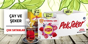 Çay ve Şeker kampanya resmi