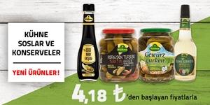 Kühne Soslar ve Konserve Yiyecekler kampanya resmi