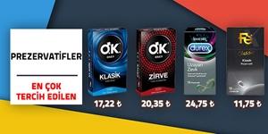 Prezervatiflerde Özel Fiyatlar kampanya resmi