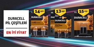 Duracell Pillerde En İyi Fiyatlar! kampanya resmi