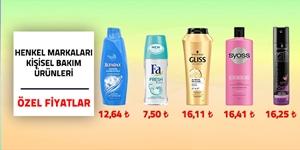 Henkel Markaları Kişisel Bakım Ürünleri kampanya resmi