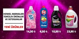 Henkel Markaları Temizlik Ürünleri ve Deterjanlar kampanya resmi