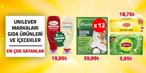 Unilever Markaları Gıda Ürünleri ve İçecekler kampanya resmi