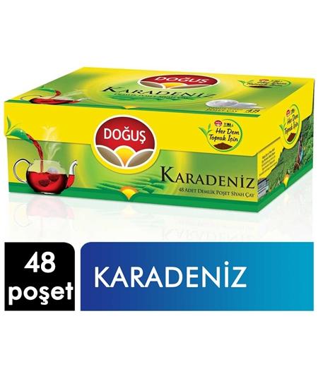 Picture of Doğuş Demlik Poşet Çay 48 Poşet X 16'lı Koli Karadeniz